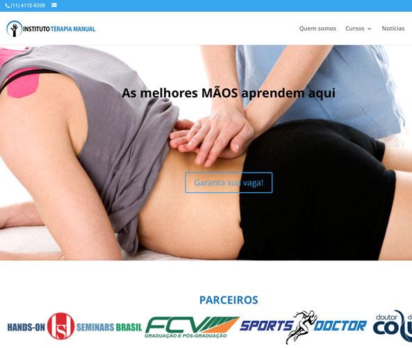 Novo site ITM - Instituto Terapia Manual