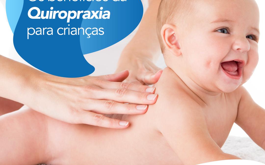 Os benefícios da Quiropraxia para crianças.